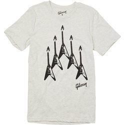 Gibson Flying V Formation T-Shirt - Large