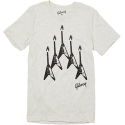 Gibson Flying V Formation T-Shirt - XXL