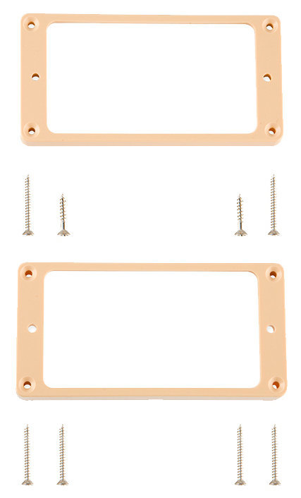 View larger image of Gibson Historic Pickup Rings - Creme