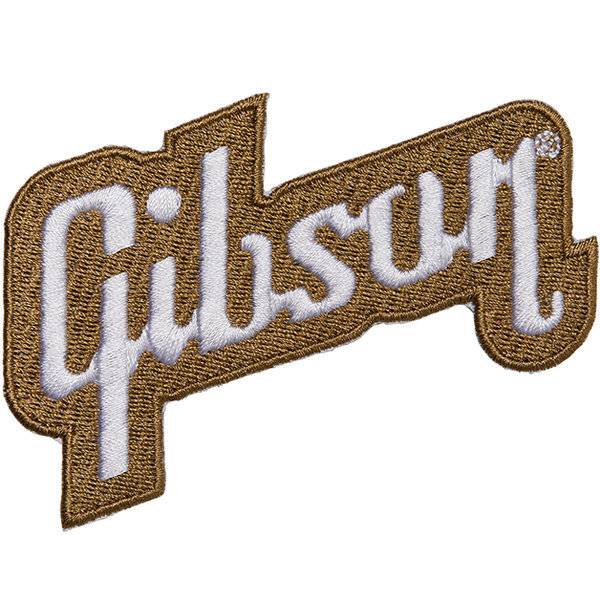 View larger image of Gibson Logo Patch - Gold
