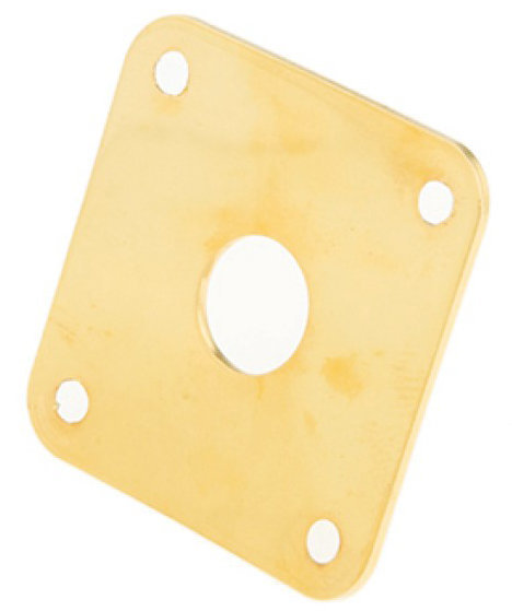 View larger image of Gibson Metal Jack Plate - Gold