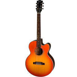 Gibson Modern Parlor Acoustic-Electric Guitar - Cherry Burst