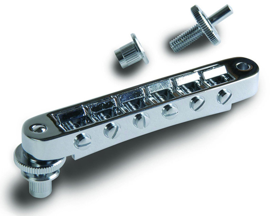 View larger image of Gibson Nashville Tune-O-Matic Bridge - Chrome