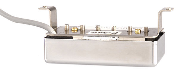 View larger image of Gibson P-94R Humbucker-Sized P-90 Single Coil Pickup - Black/Chrome