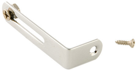 View larger image of Gibson Pickguard Bracket - Chrome