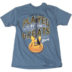Gibson Played by the Greats T-Shirt - Indigo, Large