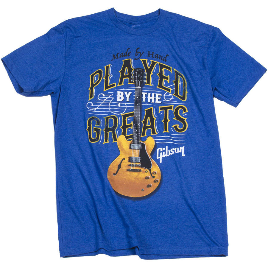 View larger image of Gibson Played by the Greats T-Shirt - Royal, Large