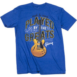 Gibson Played by the Greats T-Shirt - Royal, Small