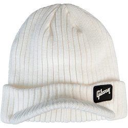 Gibson Radar Knit Beanie - White