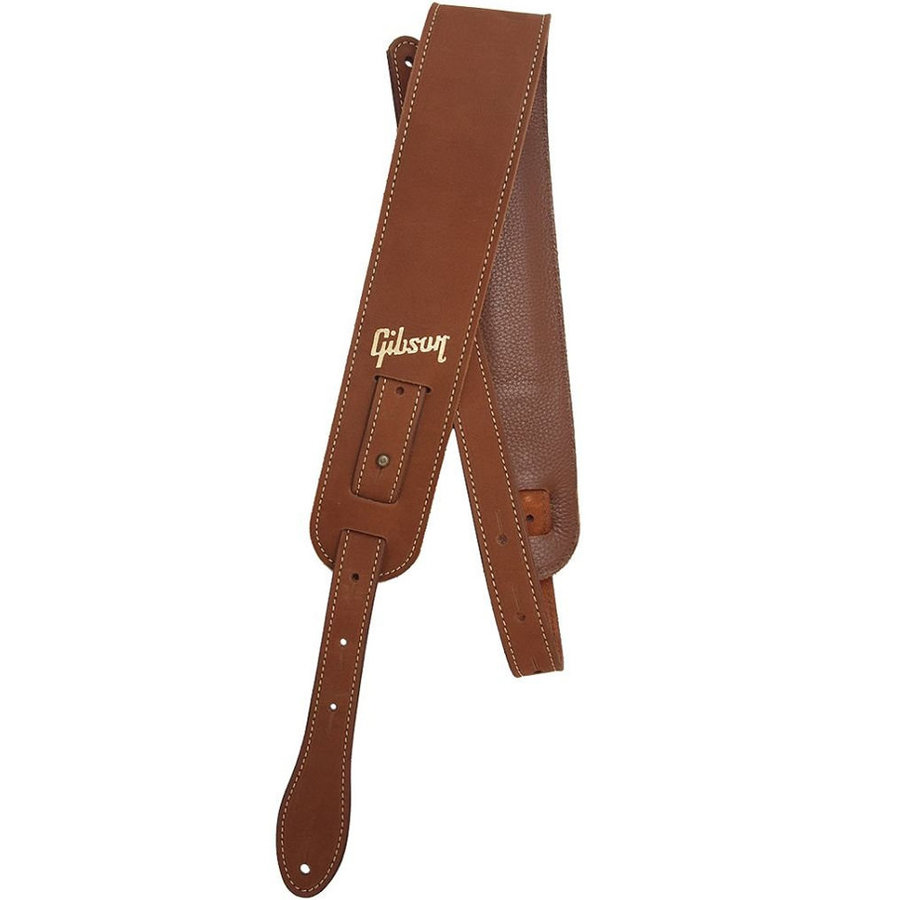 View larger image of Gibson The Nubuck Guitar Strap - Brown