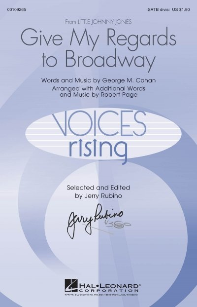View larger image of Give My Regards to Broadway, SATB Parts