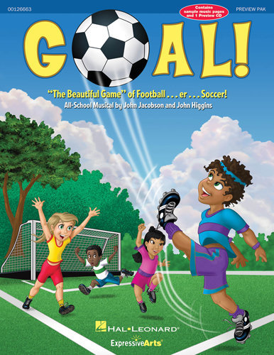 View larger image of Goal! - The Beautiful Game of Football - Piano Accomp CD