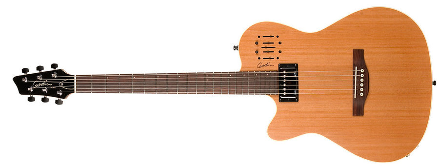 View larger image of Godin A6 ULTRA Electric Guitar - Left