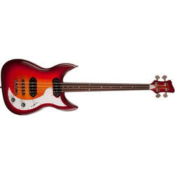 Godin Dorchester Bass Guitar - Rosewood, Cherry Burst