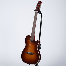 Godin Multiac Encore Classical-Electric Guitar - Burnt Umber