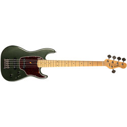 Godin Shifter 5 Classic 5-String Bass Guitar - Maple, Desert Green