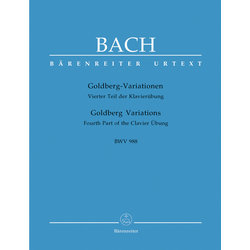 Goldberg Variations BWV 988 -Fourth Part of the Clavier Übung - Bach