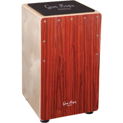 Gon Bops Fiesta Cajon - Mahogany, with Gig Bag