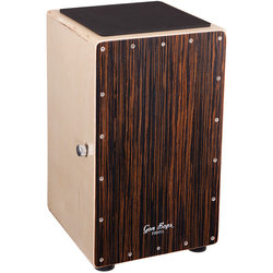 Gon Bops Fiesta Cajon - Walnut, with Gig Bag
