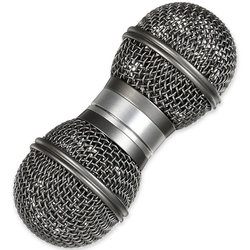 Gon Bops Mic Shakers - Silver