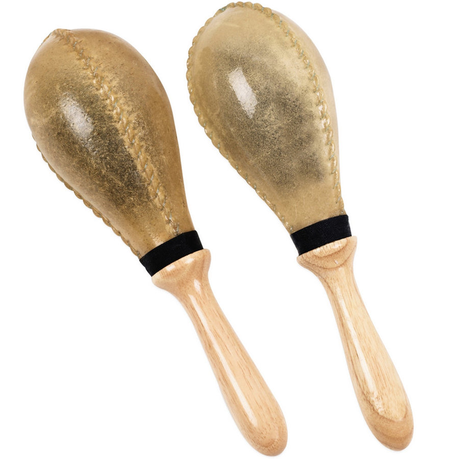 View larger image of Gon Bops PMARRLL Rawhide Maracas