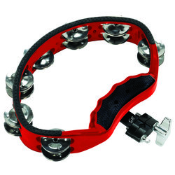 Gon Bops PTAM10 Red Tambourine with Mount