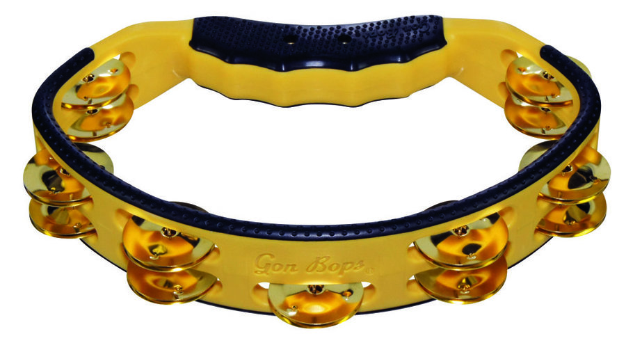 View larger image of Gon Bops PTAMBR Yellow Tambourine with Brass Jingles