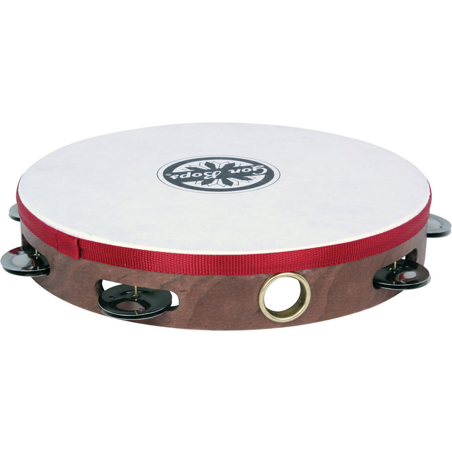 View larger image of Gon Bops PTAMWH1 Single-Row Wood Tambourine