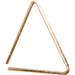 Gon Bops PTRIB8H6 6 B8 Hammered Triangle
