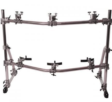 View larger image of Gon Bops RK3 Complete Rack System for 3 Congas