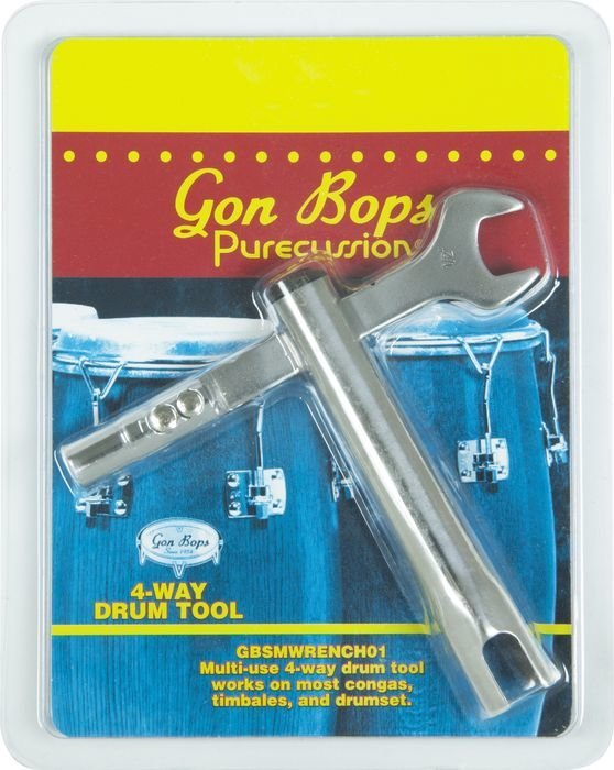 View larger image of Gon Bops SMWRENCH01 Wrench for 5/8 Hex and Wing Screw