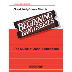 Good Neighbours March - Score & Parts, Grade 1
