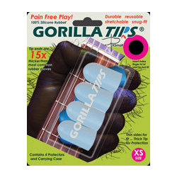 Gorilla Tips Fingertip Protectors - Clear, Extra Small