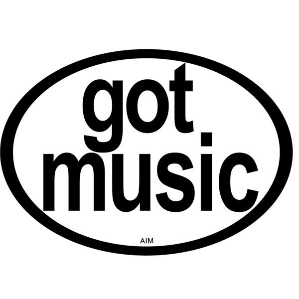View larger image of Got Music? Oval Magnet