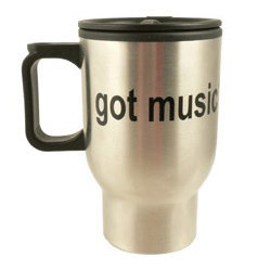 View larger image of Got Music? Stainless Steel Travel Mug