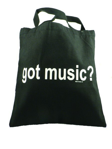 View larger image of Got Music? Tote - Black/White