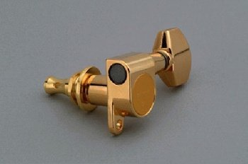 View larger image of Gotoh 6-in-line Mini Keys - Gold