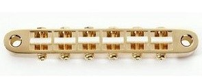 View larger image of Gotoh Gold Narrow Tunematic with Plastic Saddles