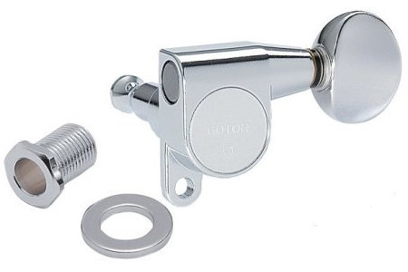 View larger image of Gotoh SG360 Machine Heads - Mini 6 In-Line, 05 Button, Chrome