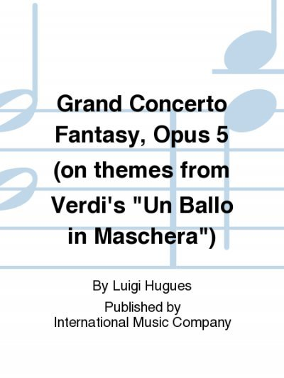 View larger image of Grand Concerto Fantasy, Opus 5, (Hughes) - Flute Duet