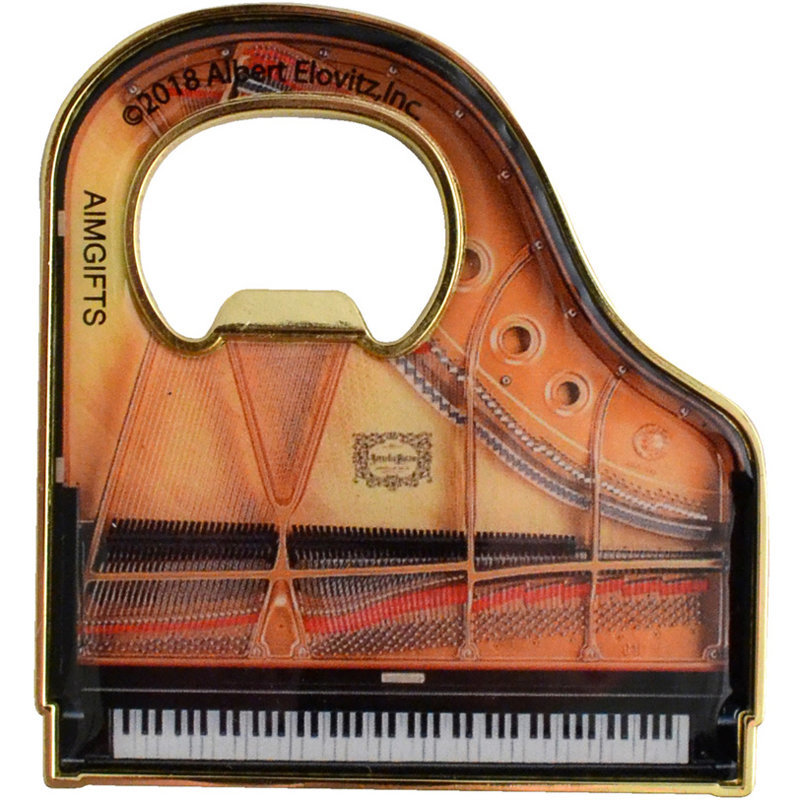 View larger image of Grand Piano Bottle Opener and Magnet