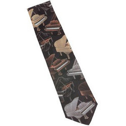 Grand Piano Crazy Tie