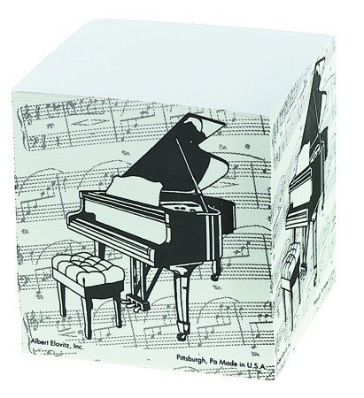 View larger image of Grand Piano Memo Cube