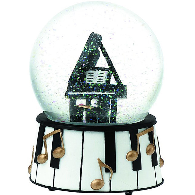 View larger image of Grand Piano Musical Snow Globe