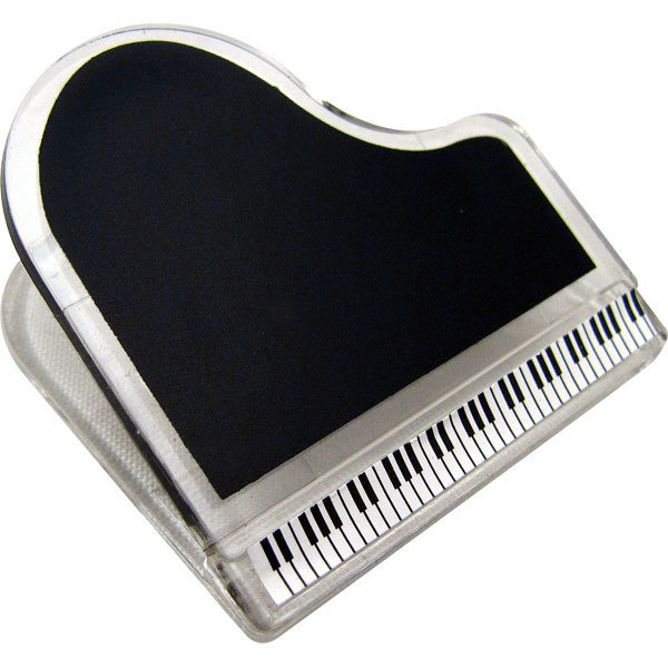View larger image of Grand Piano Shaped Clip