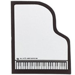 Grand Piano Shaped Sticky Pad