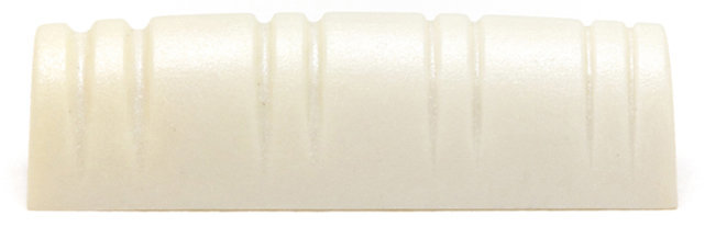 View larger image of Graph Tech Slotted Tusq Mandolin Nut - Left