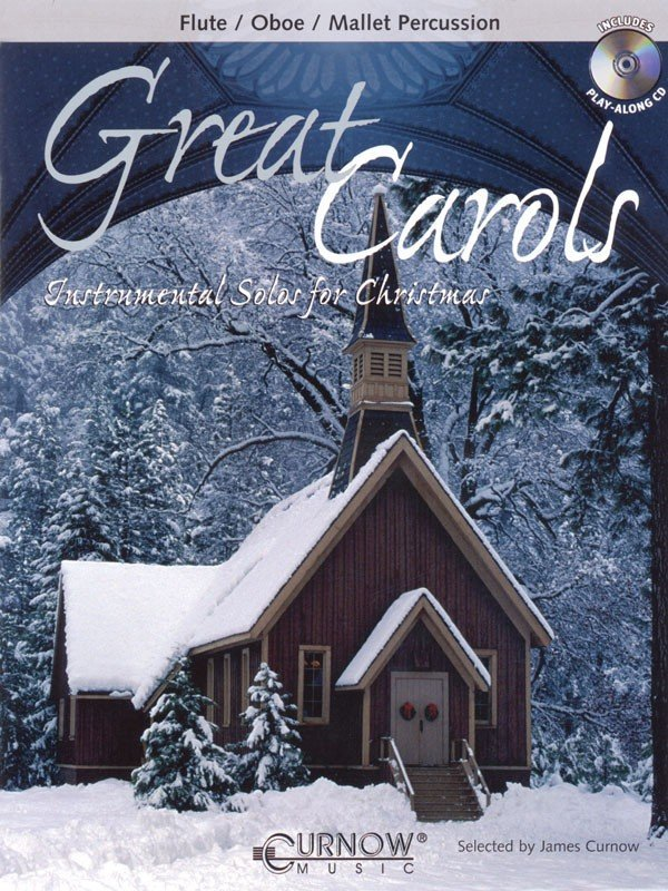 View larger image of Great Christmas Carols - Flute (Book & CD)