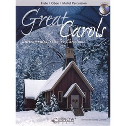 Great Christmas Carols - Flute (Book & CD)