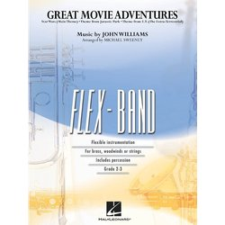 Great Movie Adventures - Score & Parts, Grade 2-3